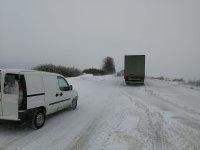 След обилния снеговалеж: Затворен е само пътят Русе-Бяла