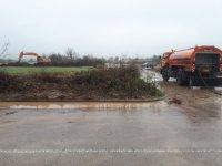 """Дезинфекцират участък от АМ """"Марица"""" преди границата с Турция"""