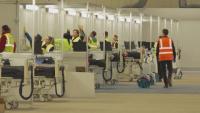 Готова е първата голяма полева болница във Великобритания