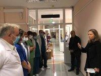снимка 1 Транспортна болница в Пловдив е подготвена за консултиране и прием на пациенти със съмнения за COVID-19