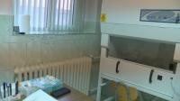 Екип на БНТ първи влезе в лабораторията в Стара Загора