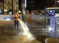 Миенето на улиците в София върви по график