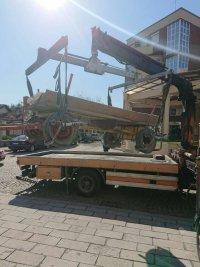 снимка 4 Паяк вдигна каруца, натоварена с гуми за горене