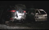 Пожарът, изпепелил две коли в Бургас, е бил умишлен