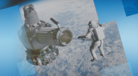 В деня на авиацията космонавти отговаряха на въпроси