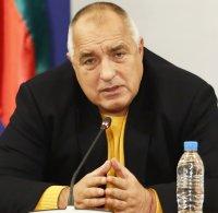Борисов: Разпоредих на министъра на здравеопазването носенето на маски да стане задължително