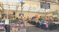 Кооперативният пазар в Кюстендил с КПП и строги мерки за работа