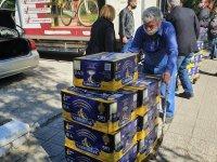 Дариха 1,5 тона плодове на общинските социални домове в Пловдив
