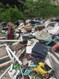 Установиха горене на нерегламентирани отпадъци в Русе