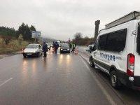 """снимка 4 10 км опашка от коли чака да влезе в София през АМ """"Тракия"""""""