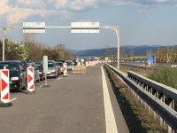 """Над 2 км колона от коли се образува на КПП-то на входа на София откъм АМ """"Тракия"""""""