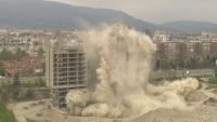 """Взривиха 17-етажната сграда на ИПК """"Родина"""""""