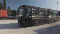 Диско автобус разведрява жителите на Марсилия