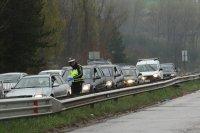Над 200 КПП-та ще контролират трафика през почивните дни
