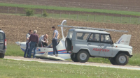 Самолетът на бизнесмена Ивайло Пенчев падна на летището в Лесново