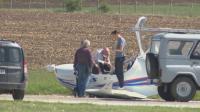 Технически проблем е основната версия за падналия самолет в Лесново