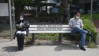Пейки за социална дистанция в Турция