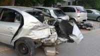 Пиян шофьор потроши 5 автомобила в Пловдив