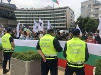 """снимка 5 Протест на партия """"Възраждане"""" пред парламента (Видео, снимки)"""