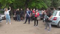 Абитуриенти от Видин организираха автошествие за изпращането си