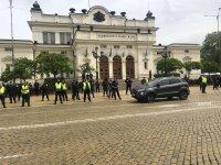 """снимка 4 Протест на партия """"Възраждане"""" пред парламента (Видео, снимки)"""