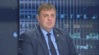 Каракачанов за атаките срещу Горанов: Изборите наближават, нормално е да има такива атаки