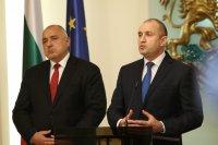 Президентът Радев и премиерът Борисов отново в словесна престрелка