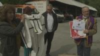 Лекарите от спешното във Варна получиха дарение от предпазни средства