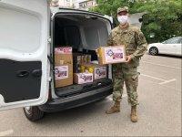 Американското посолство дари на ВМА 900 теста за COVID-19
