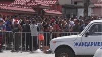"""В ямболския квартал """"Райна Княгиня"""" протестираха заради въведените мерки"""