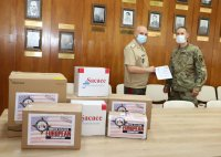 снимка 3 Американското посолство дари на ВМА 900 теста за COVID-19