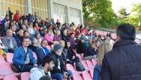 снимка 1 Жители на Хасково протестират срещу застрояването в парк Ямача