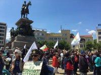 """снимка 7 Протест на Мая Манолова и """"Системата ни убива"""" срещу управляващите"""