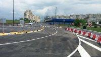 """снимка 4 Пускат движението по новоизградения бул. """"Петър Дертлиев"""""""