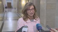 Екатерина Захариева: България е една от държавите, които се справиха най-добре