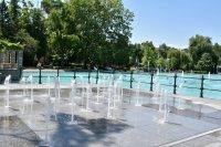 Пеещите фонтани в Пловдив отново работят