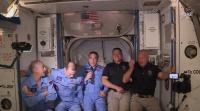 Посрещнаха астронавтите Дъглас Хърли и Робърт Бенкен на МКС