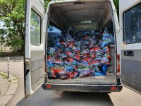 снимка 3 Жест за 1 юни: Патриарх Неофит направи дарение за децата на медиците от Бърза помощ