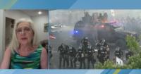Трима полицаи от български произход са леко пострадали при безредиците в САЩ