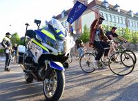 На протест с велосипед срещу словенското правителство