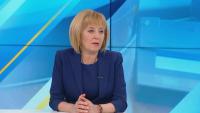 Мая Манолова категорична пред БНТ: Бизнесменът Божков не ме е финансирал!