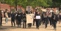 В Лондон протестираха срещу расизма пред американското посолство