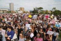 Протести в Албания срещу сексуалното насилие над деца