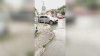Повдигнаха обвинение на шофьора от Варна, който блъсна 7 автомобила и пешеходка