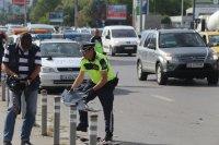 """снимка 7 Снимки от катастрофата на """"Цариградско"""": Разпилени части от мотора, ударен автобус"""