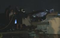 """Пожарът във """"Факултета"""" е овладян, няма жертви и пострадали хора"""