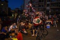 Втора нощ на протести и сблъсъци в Ливан