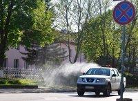 Дезинфекцират разградското село Ясеновец срещу COVID-19