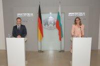 Захариева: Неприемливо е обвинението, че българи са донесли коронавирус в Германия