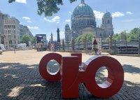 """Арт инсталацията """"Българските букви"""" гостува цяло лято на Берлин"""
